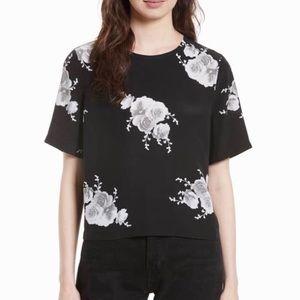 { equipment } Brynn silk floral top